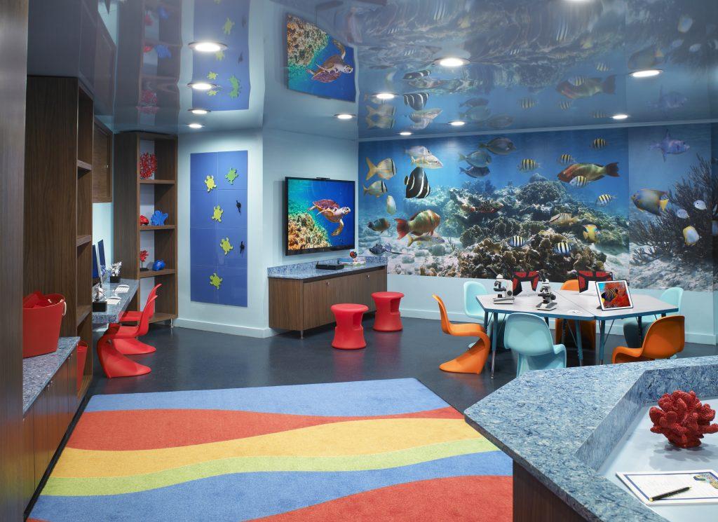 Kids Area At Acqualina Resort