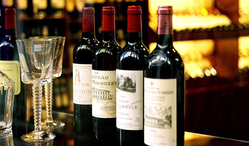 Bordeaux wines sold as futures
