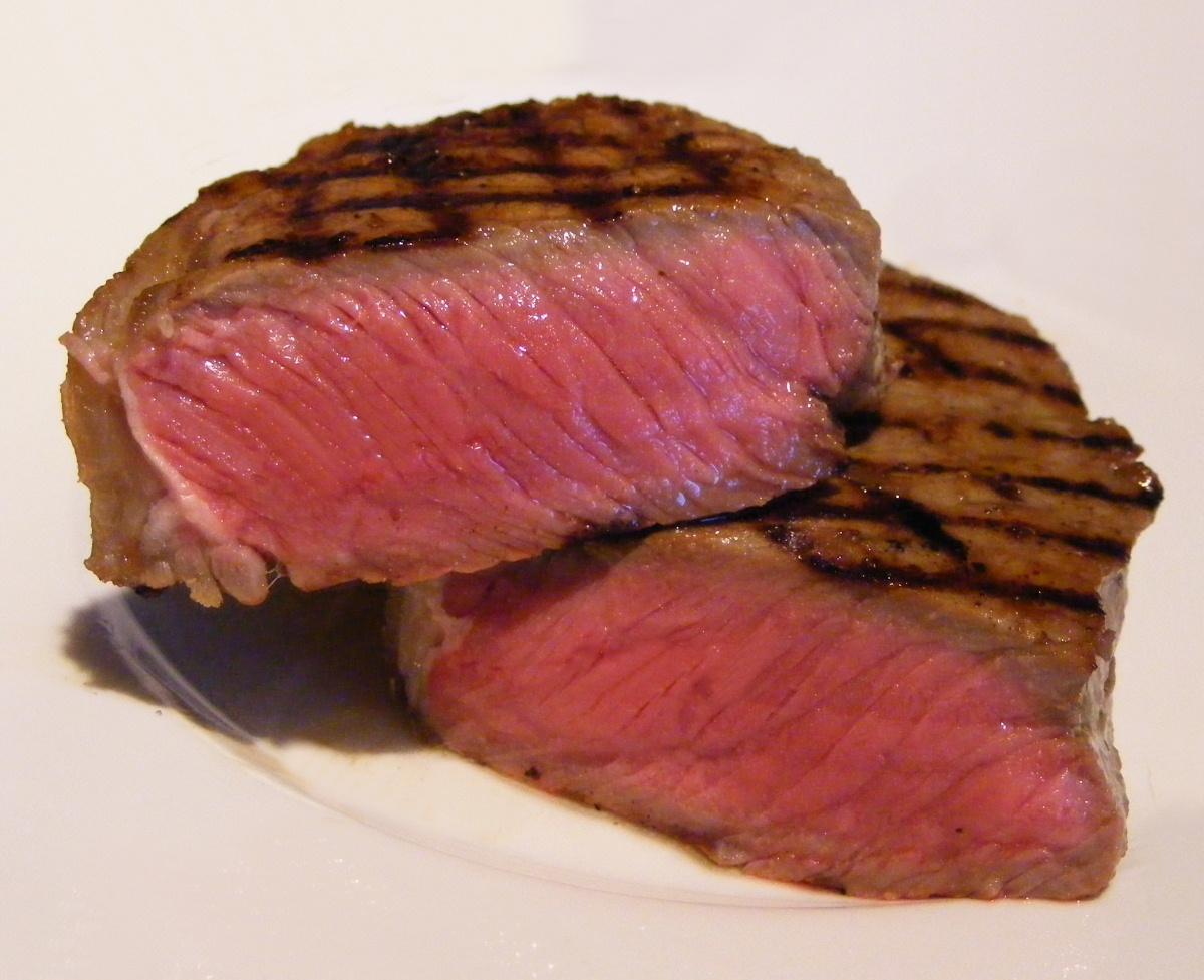 Steak at Halls Chophouse, Charleston