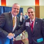 Jason Hagensick, President & CEO of YMCA of South Palm Beach County & Boca Raton City Councilman Scott Singer
