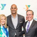 Amy Devlin, Jason Taylor and Tim Devlin, Senior Partner, Daszkal Bolton LLP and Chief Volunteer Officer, YMCA of South Palm Beach County