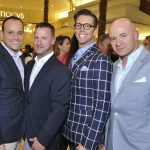 Peter Gloggner, Dustin Smith, Jack Lighton and Giovanni DiStadio