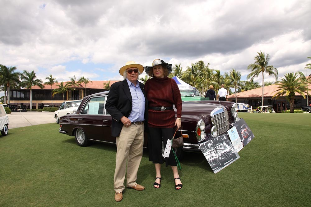 Steve and Apollonia Silver's iconic 1969 Mercedes-Benz 300SEL 6.9