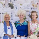 Tracy Siani, Catherine Brister, Eleanor Hall