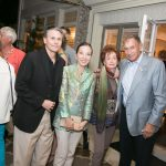 Bill and Christine Aylward, Susan and George Cohon