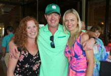 Nicole Cooney, Darren and Jurgita Wade