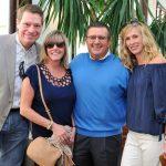 Rob and Tia Gierkink, Joe and Sydney Norick