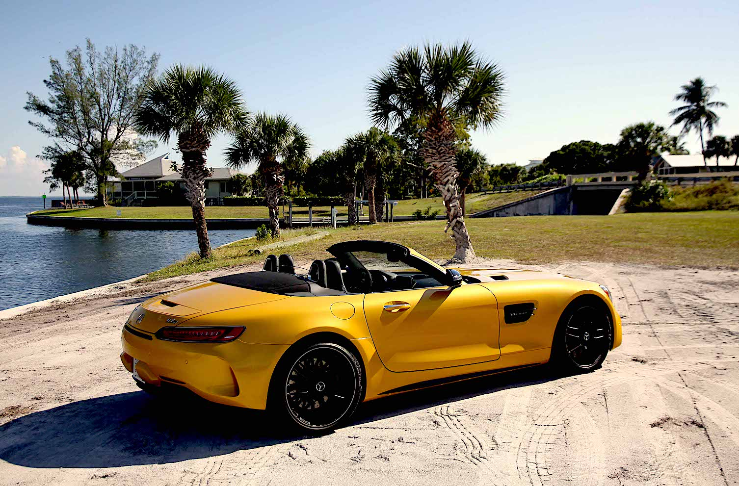 Mercedes Amg Gt C Roadster Palm Beach Illustrated