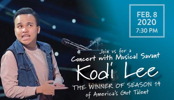 Concert with Musical Savant Kodi Lee
