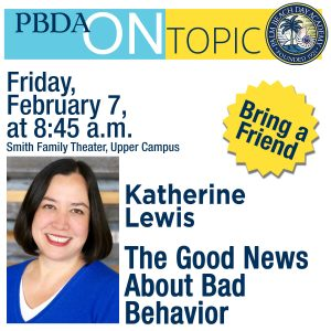 PBDA On Topic with Katherine Lewis