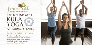 Rise & Shine with Kula Yoga at Farmer's Table!