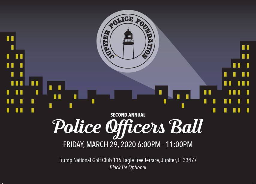 2nd Annual Jupiter Police Foundation: Police Officers Ball