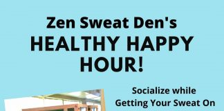 Healthy Happy Hour at the Zen Sweat Den