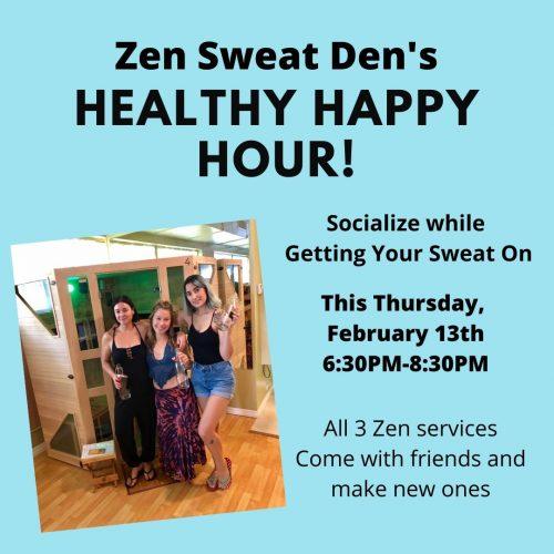 Healthy Happy Hour at the Zen Sweat Den