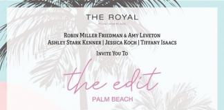 the edit x Palm Beach