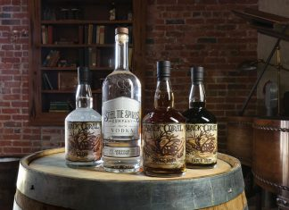 Steel Tie donates $1 from each bottle of Black Coral rum to nonprofit veterans' charities, and Ben Etheridge is currently establishing a foundation named for his father, Clinton.