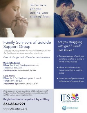 Family Survivors of Suicide Support Group