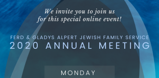 Jewish Family Service Virtual Annual Meeting