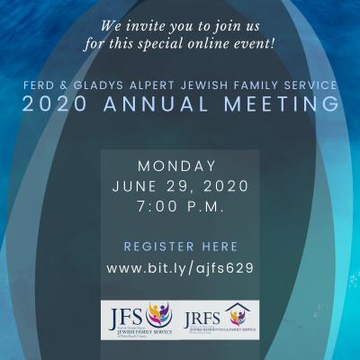 Jewish Family Service Virtual Annual Meeting