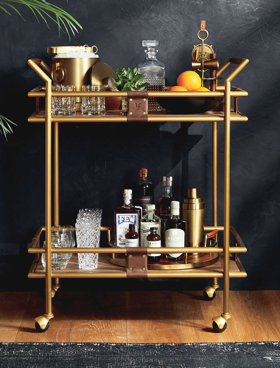 How To Stock Your Bar Cart Like A Pro Palm Beach Illustrated