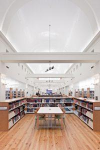 Mandel Public Library in West Palm Beach fourth floor