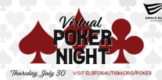 Els for Autism Virtual Poker Tournament