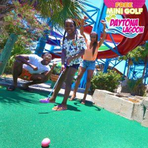 Free Mini Golf Weekends at Daytona Lagoon