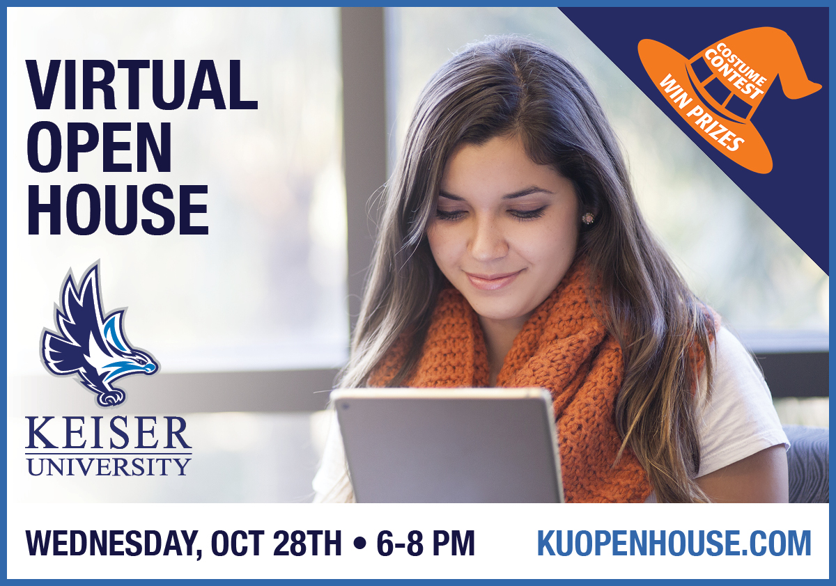 Keiser University Virtual Open House