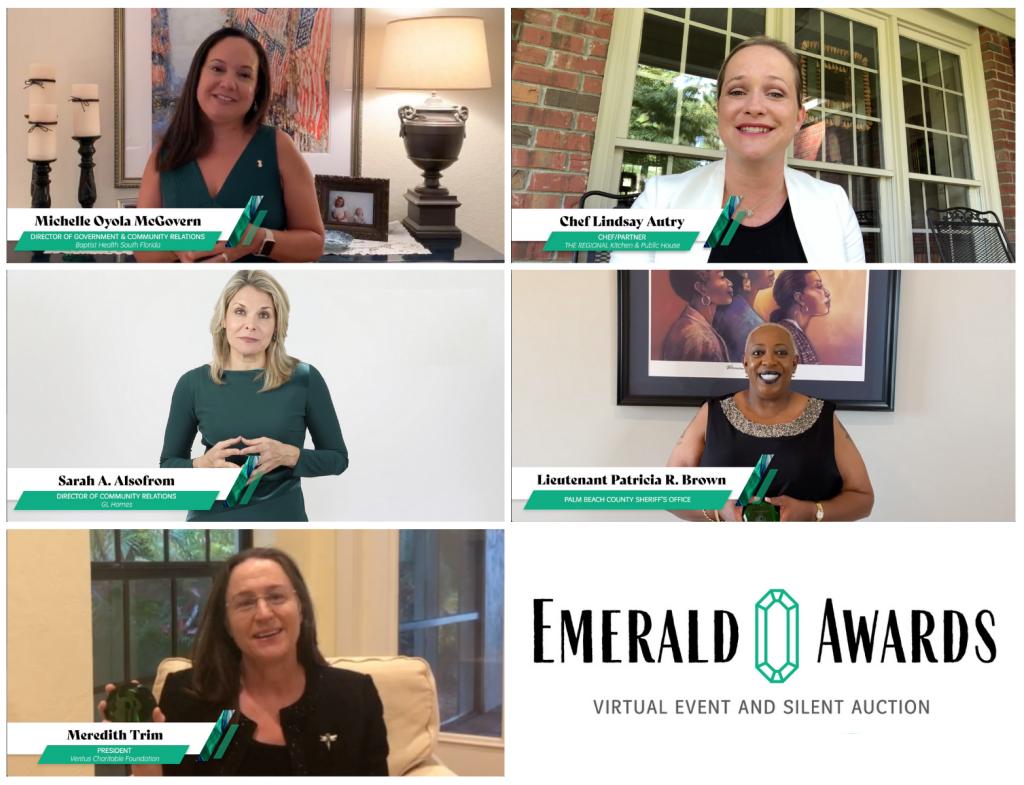 Emerald Honorees 2020_Horizontal Image_From Left MM, LA, SA, PB, MT