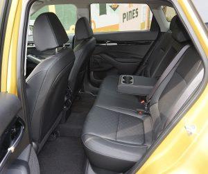 Kia Seltos back seats