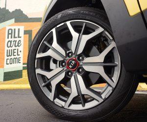 Kia Seltos wheels