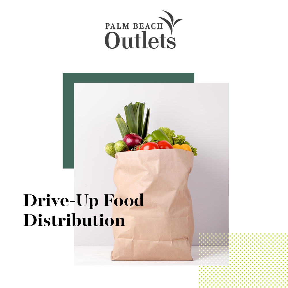 Drive-Up Food Distribution