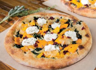 True Food Kitchen, Butternut Squash Pizza