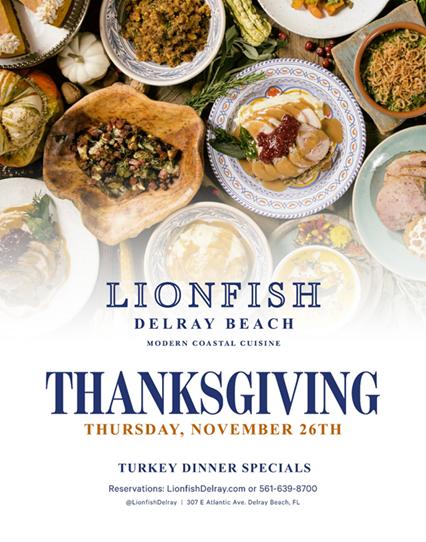 Thanksgiving at Lionfish