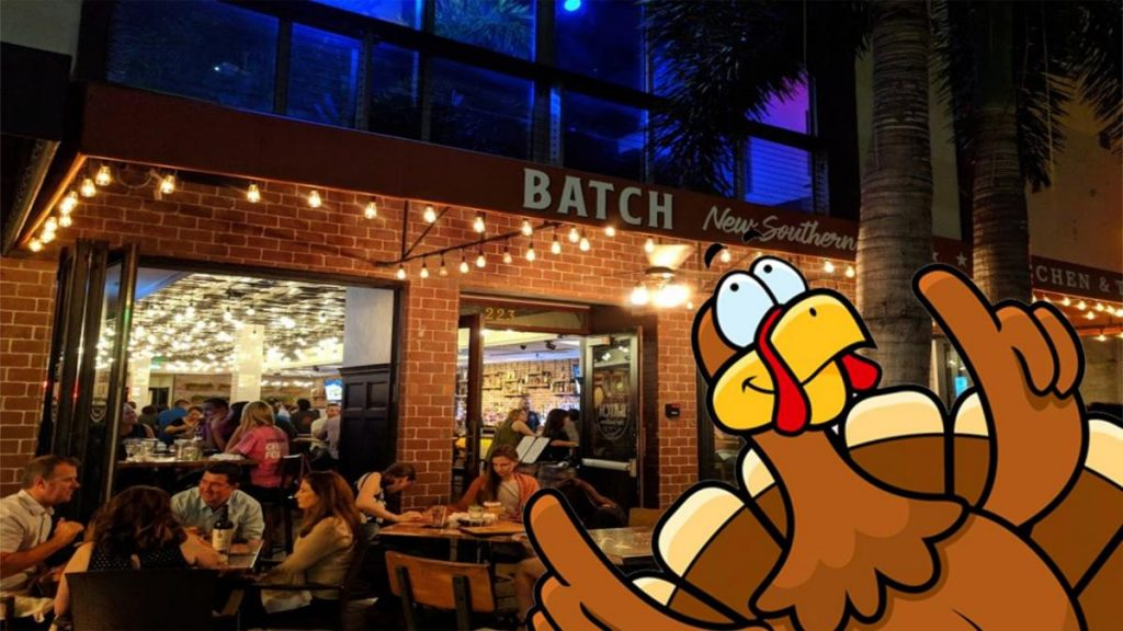 Thanksgiving with Batch