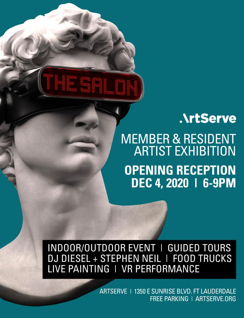 """The Salon"" at ArtServe"