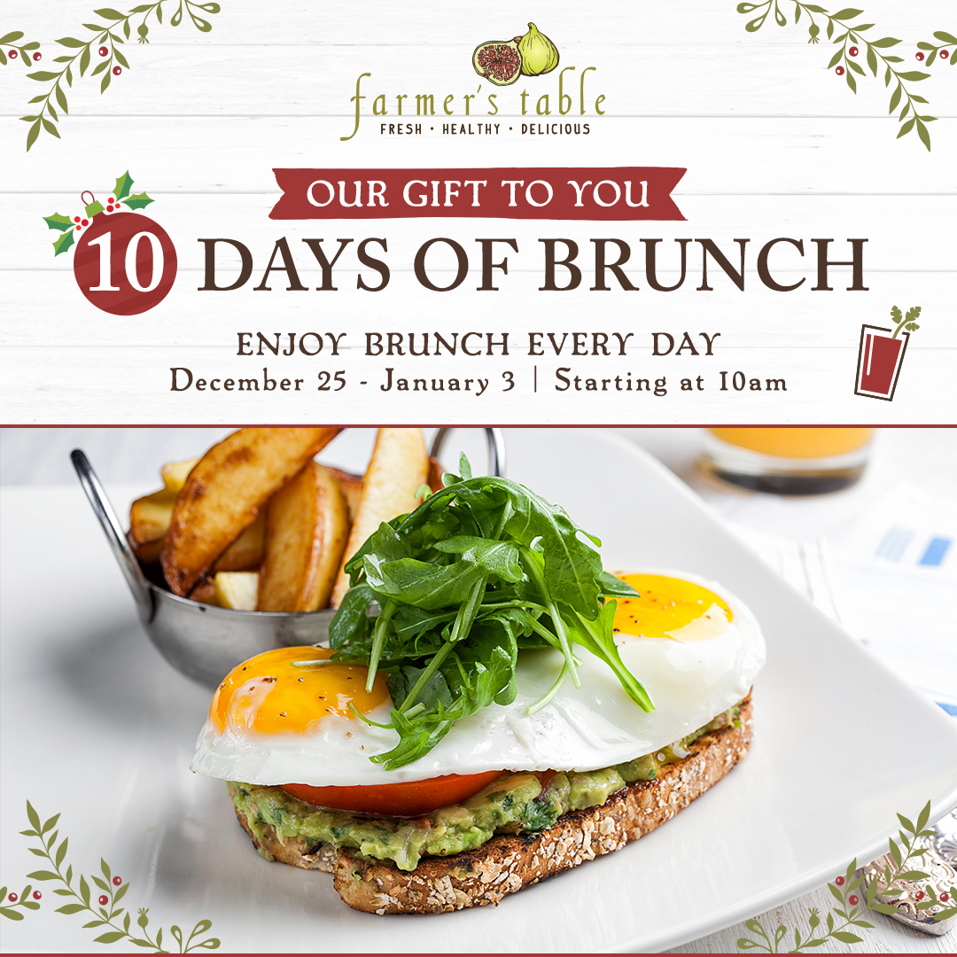 10 Days Of Brunch