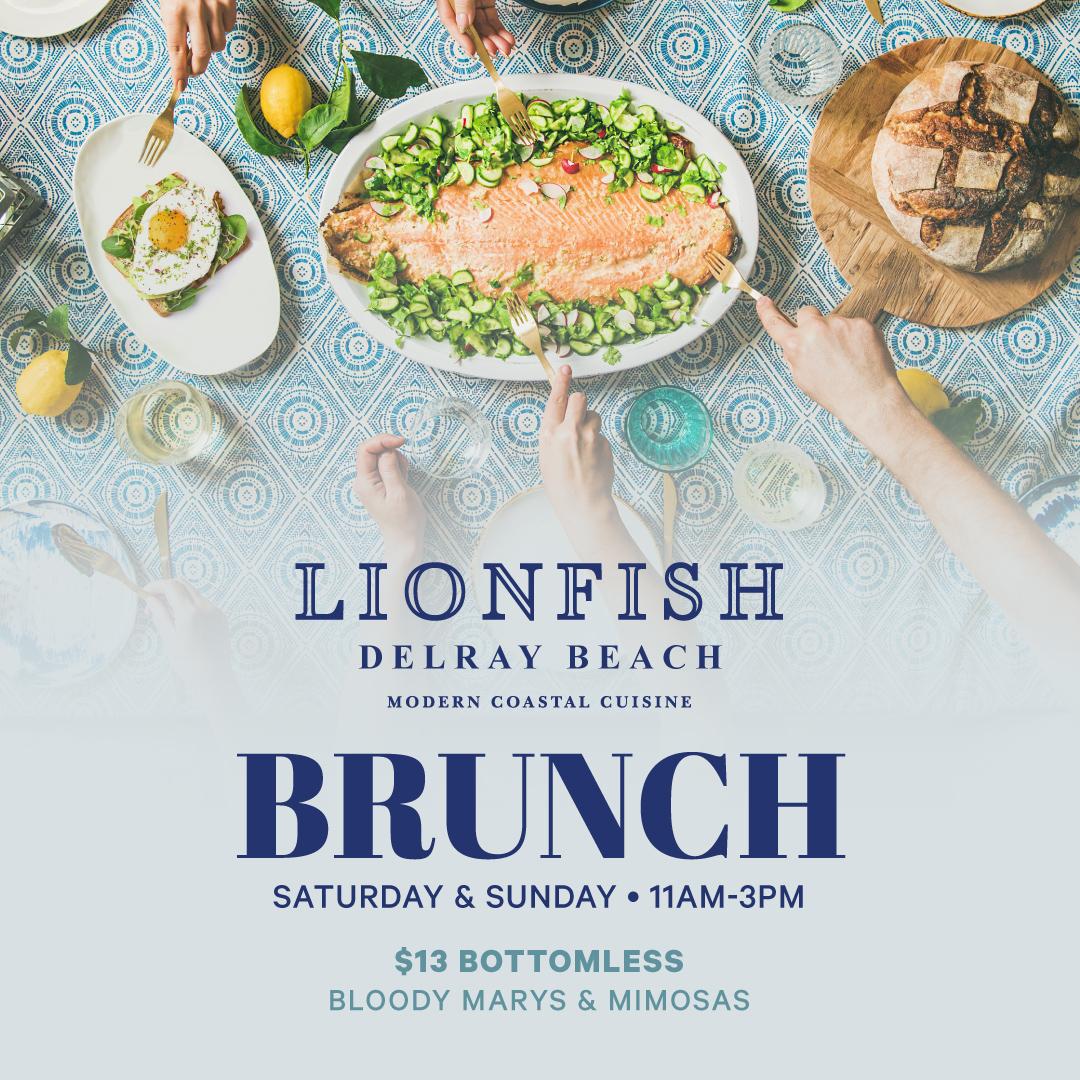 Weekend Brunch at Lionfish