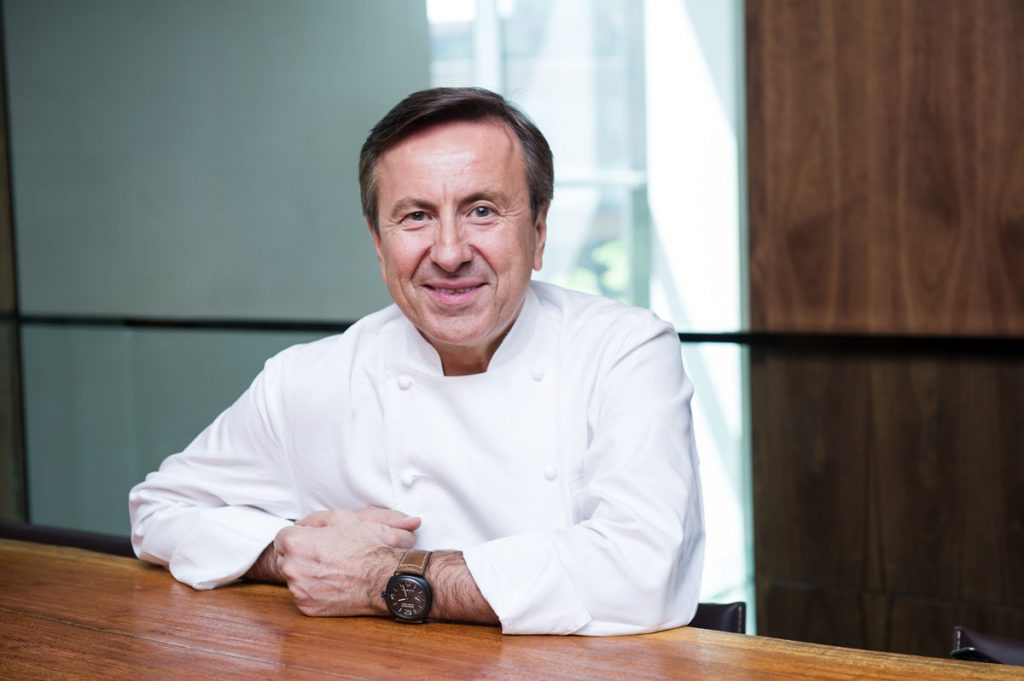 Chef Daniel Boulud. Photo courtesy of Café Boulud.