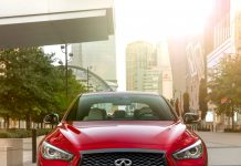 Infiniti Q50 grille front