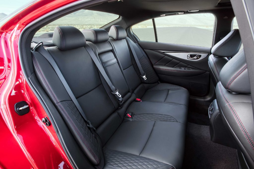 Infiniti Q50 backseats