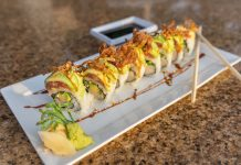 Mizner Roll at Max's Grille. Photo courtesy of Max's Grille.