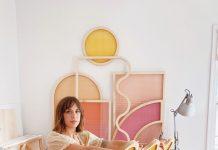 Multicolor shape screens, Hayley Sheldon, workroom 2 copy