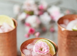 Sakura Mule, Taylor Amos for Low-Proof Happy Hour