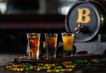 Whiskey shots at Batch. Photo by Adrian Ciolpan.