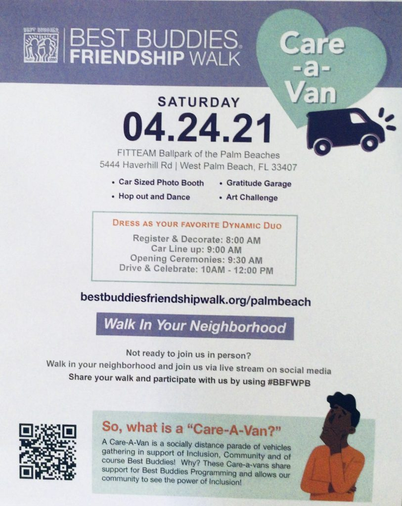 Friendship Car-a-Van Walk