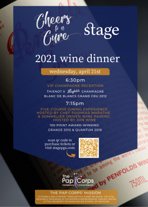 """""""Cheers To A Cure"""" Wine Dinner"""