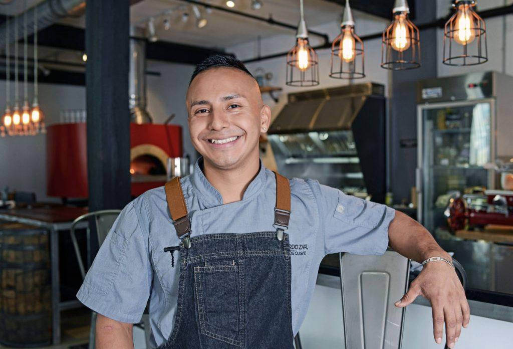 Chef Eddy Zapil will serve Latin-inspired street food at Lunch Break. Photos by Alissa Dragun