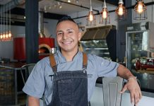 Chef Eddy Zapil will serve Latin-inspired street food at Lunch Break. Photos by Alissa Dragun