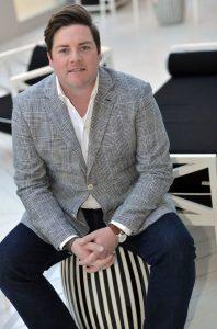 Nashville and now Palm Beach designer Jonathan Savage. <br/> Photo by Peyton Hoge